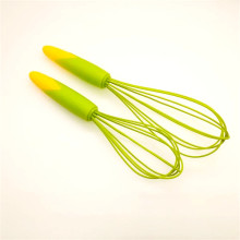 China for Silicone  Whisk GREEN Silicone egg beater export to Portugal Supplier