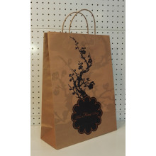 Brown Twisting Handle Art Paper Bags