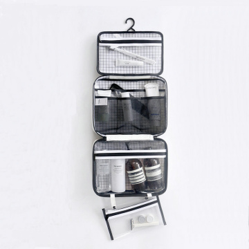 Hanging Toiletry Bag with Detachable Compartment Pockets
