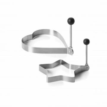 stainless steel egg ring set