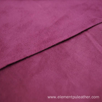 synthetic microfiber suede leather for shoes