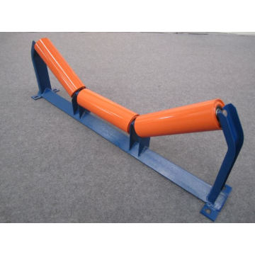 Purchasing for China Carrying Rollers,Conveyor Carry Roller,Carrying Impact Roller Manufacturer Grooved Steel Conveyor Idlers supply to Finland Supplier