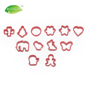Sweet Creations Plastic Holiday Cookie Cutters