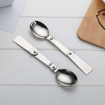 Stainless steel folding spoon Wholesale