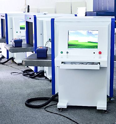 X-Ray Baggage Scanner Used for Airport