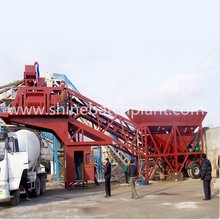 YHZS75 Portable  Concrete Batching Equipment