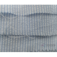 Blue Seersucker Plain Cotton Fabric