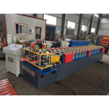 Palisade defender fence post forming machine