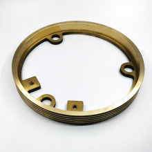 CNC milling machining brass parts