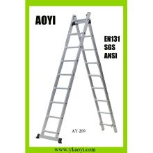 2x11 steps section extension ladder