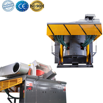 Electronic induction steel melting machine