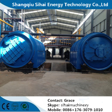 Waste Tyre Recycling Machinery To Make Diesel Oil