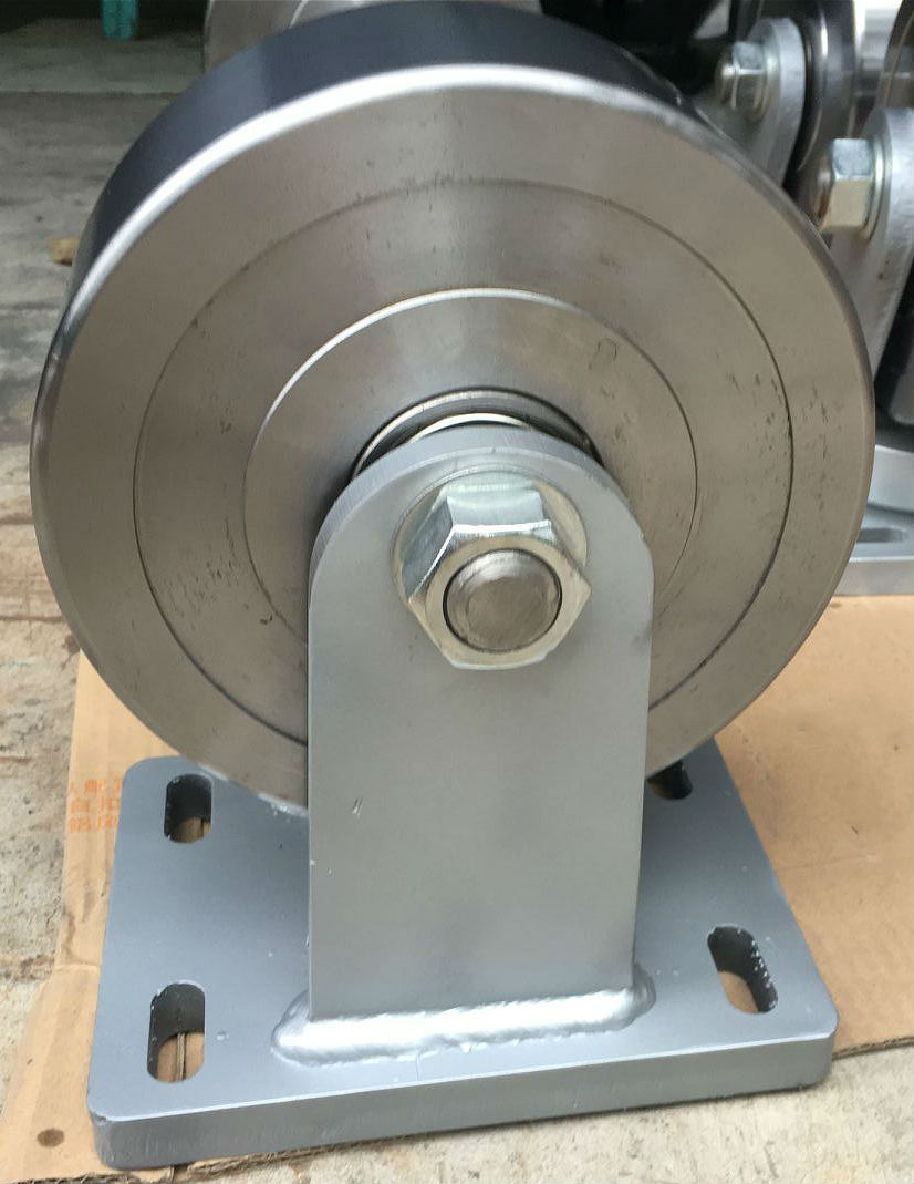 Super Heavy Duty Forged Steel Fixed Caster Wheel
