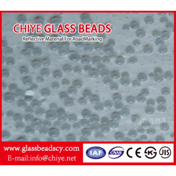 Moisture-Proof Reflective Glass Beads for Roadmarking