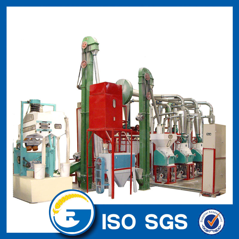 20 tonne per day maize flour milling machine