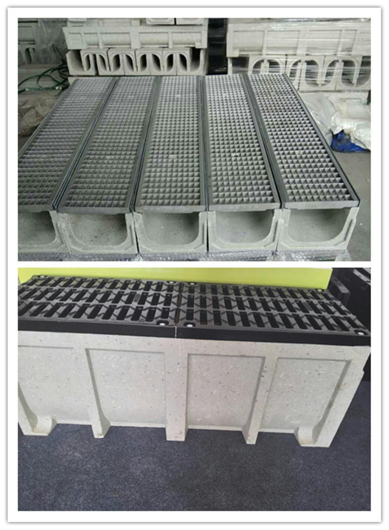 Channel Drainage For Patios: Heavy Duty Polymer Concrete Channel Drain China Manufacturer