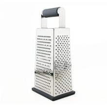 Massive Selection for for Plastic Grater Stainless Steel 4 Sides Cheese Vegetables Grater export to India Wholesale