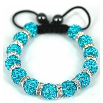 Wedding Accessories Jewelry Shamballa Rhinestone Bracelet