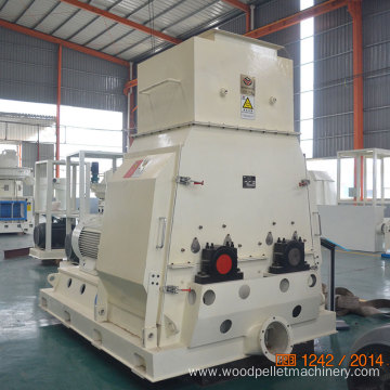 High Efficiency Double Rotor Sawdust Hammer Mill