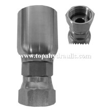 Welded air hose reusable quick one union fitting