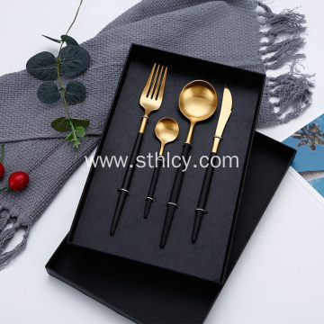 Home Party Western Stainless Steel Flatware Set