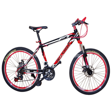 Red Color Mountain Bike MTB Cycle