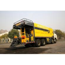 Heavy duty asphalt road micro surfacing