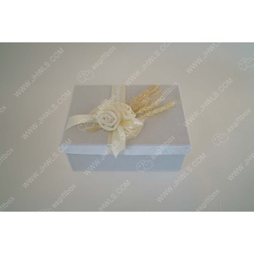 Ribbon velvet cosmetic box