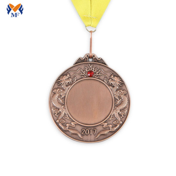 Blank metal sport medals for engraving