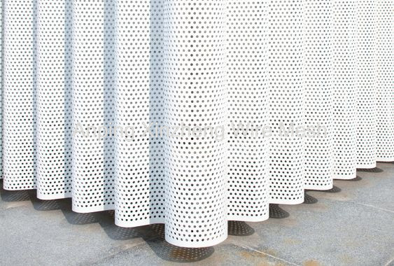 Perforated Mesh Cladding