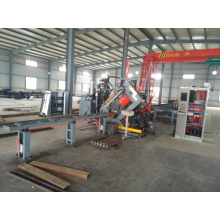 New Arrival China for Cnc Angle Line CNC Electricity Channel Steel Punching Shearing Line export to Bahrain Factory
