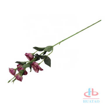 Platycodon real touch faberic artificial silk flower