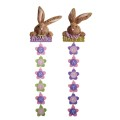 Easter 3D rabbit shape wall sign decorations