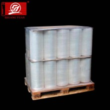 Excellent Tensile 4-200cm LLDPE Handle Rolls Stretch Film