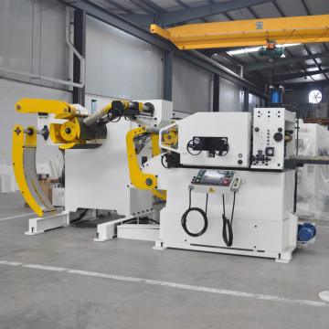 3 in 1 Servo Straightener Feeder with Uncoiler