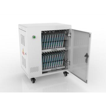 Charge and sync multiple tablets iPad charging cabinet