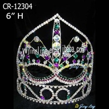 Holiday sales for Easter Butterfly Shaped Crowns 6 Inch Custom Halloween Mask Pageant Crowns export to Zambia Factory
