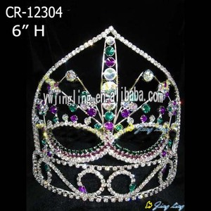 6 Inch Custom Halloween Mask Pageant Crowns