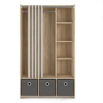 Bedroom Clothes Furniture Wardrobe Closet Storage