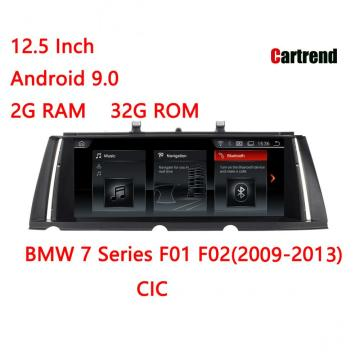 BMW 7er F01 / F02 Tablet Radio