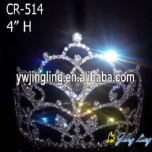 4 Inch custom wholesale pageant crowns for sale