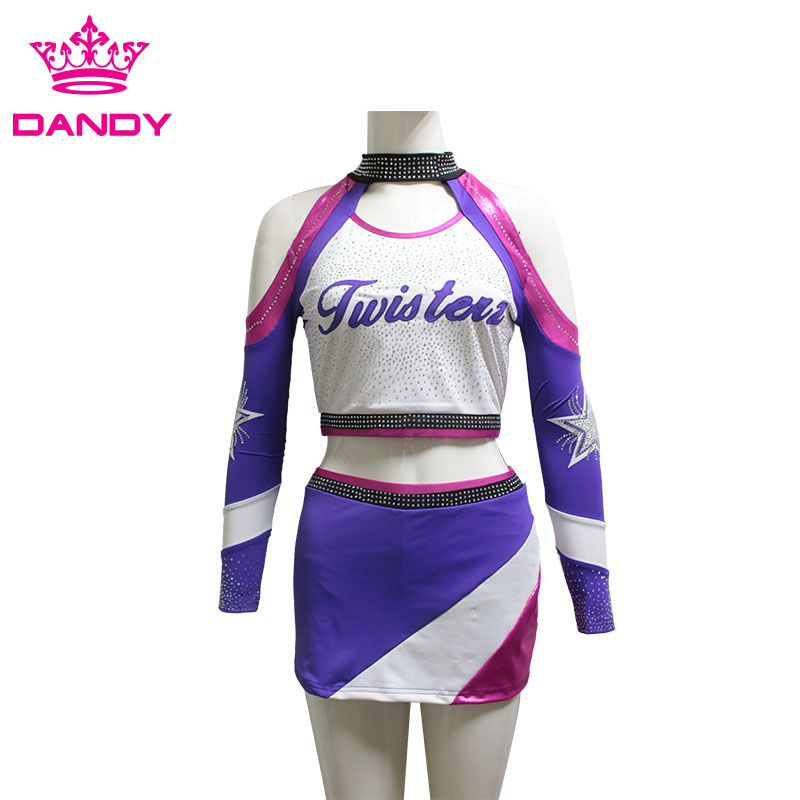 crop top cheer uniform