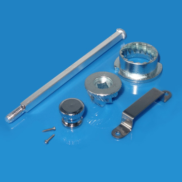 Stainless tšepe Pepper Mill Grant Mechanism Turning Kit