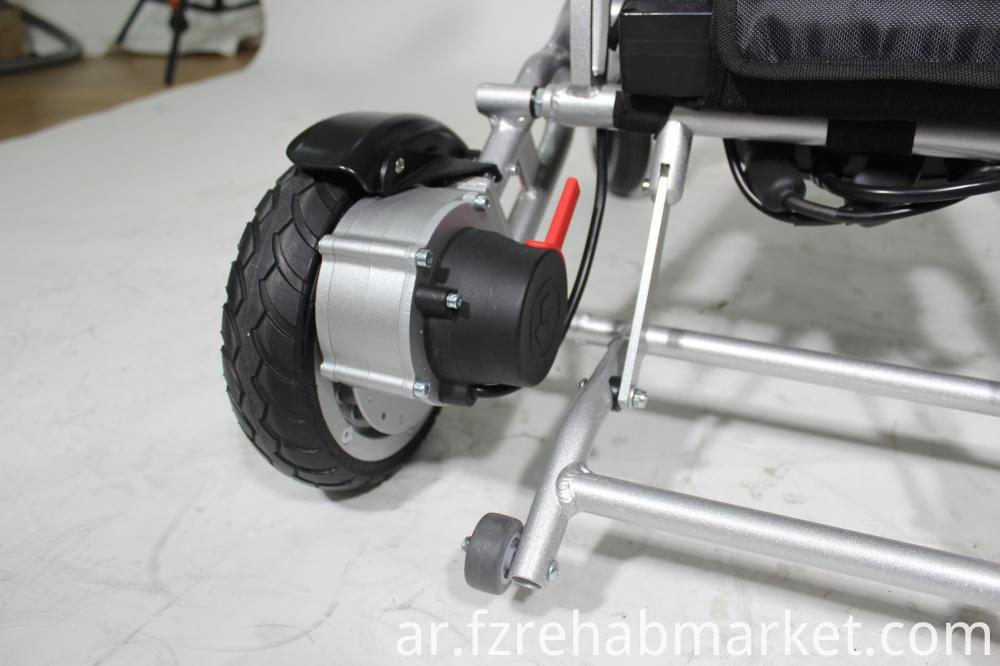 Folding Electric Wheelchair with Lithium Cell