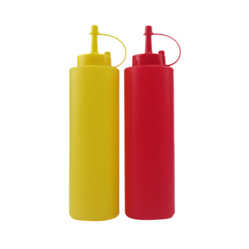 2pcs plastic condiment set