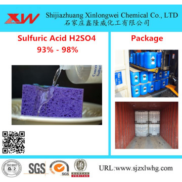 Mining Uses Sulphuric Acid 98%