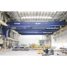 Customized for Overhead Travelling Crane,Overhead Crane,Travelling Eot Crane Manufacturers and Suppliers in China Double Girder Overhead Crane 80+40t supply to Maldives Manufacturer