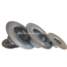 Lage Tolerantie Conveyor Idler Stamping Bearing Housing