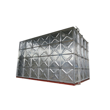 HDG Steel Q235 Panel Water Tank