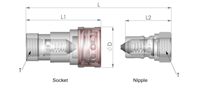 ZFJ2.3.6-4000 series quick coupling